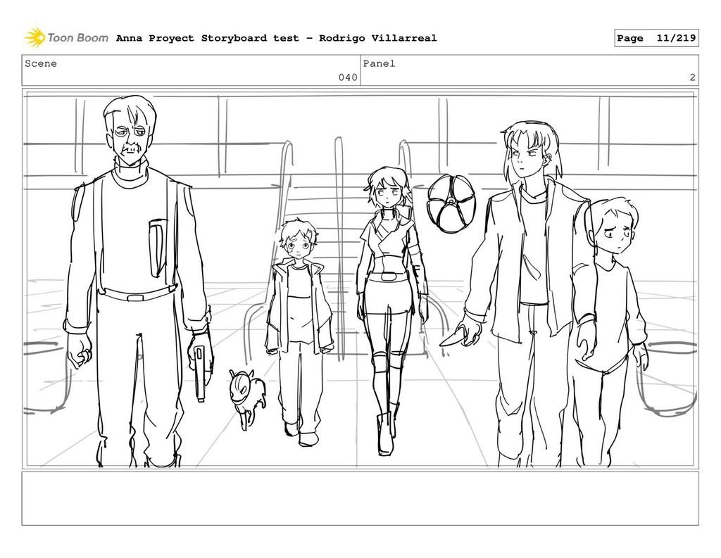 Scene 040 Panel 2 Anna Proyect Storyboard test ...