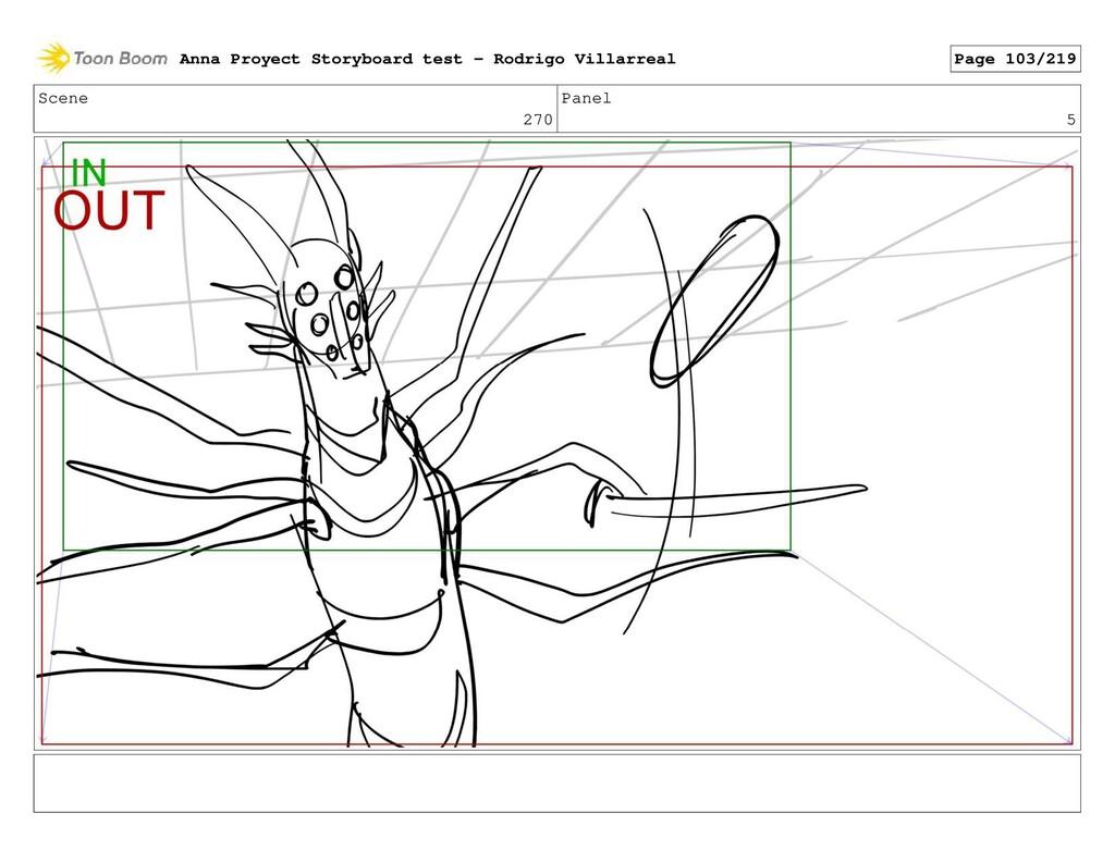 Scene 270 Panel 5 Anna Proyect Storyboard test ...