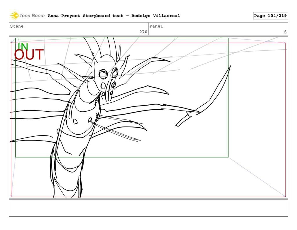 Scene 270 Panel 6 Anna Proyect Storyboard test ...