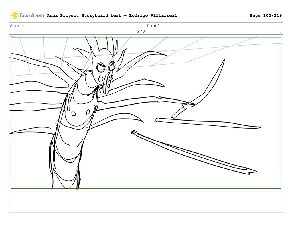 Scene 270 Panel 7 Anna Proyect Storyboard test ...