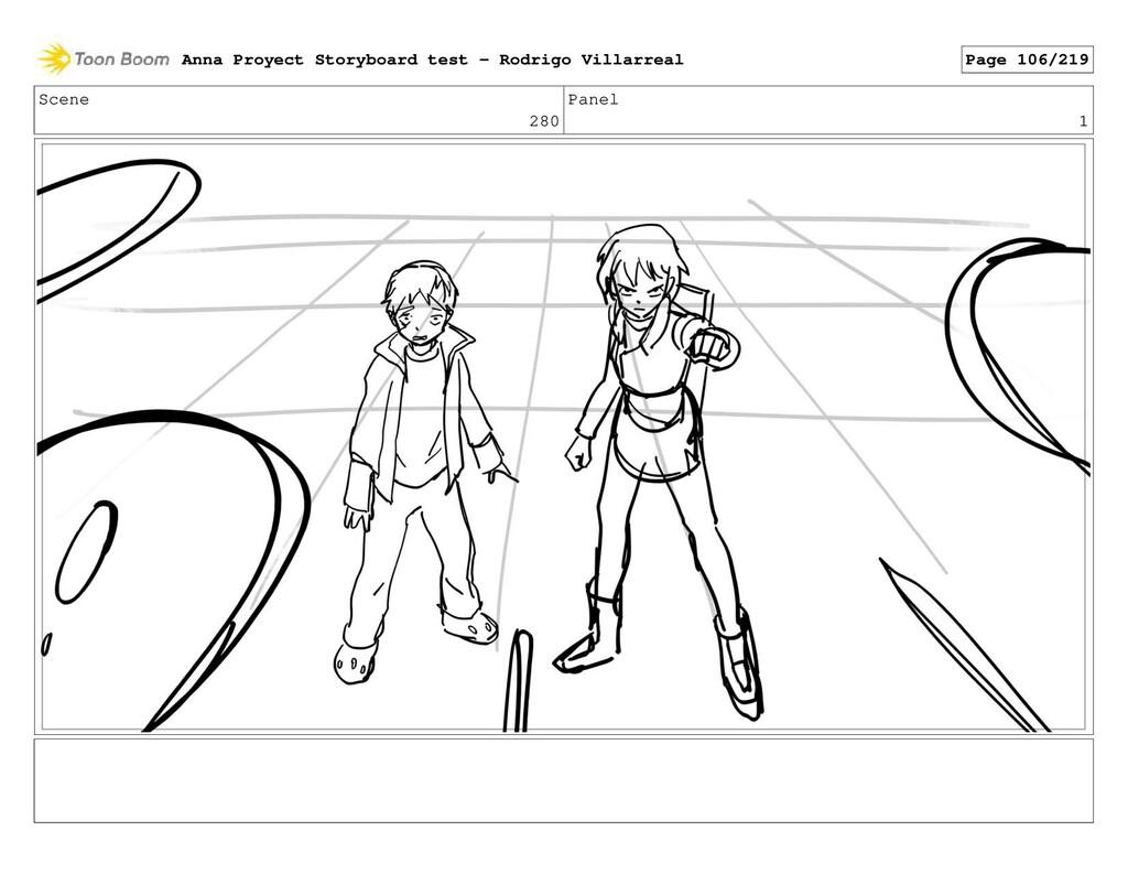 Scene 280 Panel 1 Anna Proyect Storyboard test ...