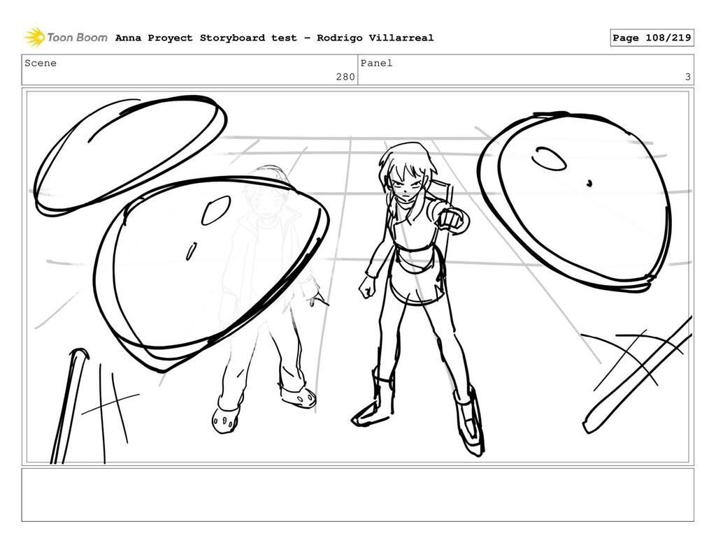 Scene 280 Panel 3 Anna Proyect Storyboard test ...