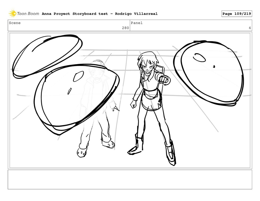Scene 280 Panel 4 Anna Proyect Storyboard test ...
