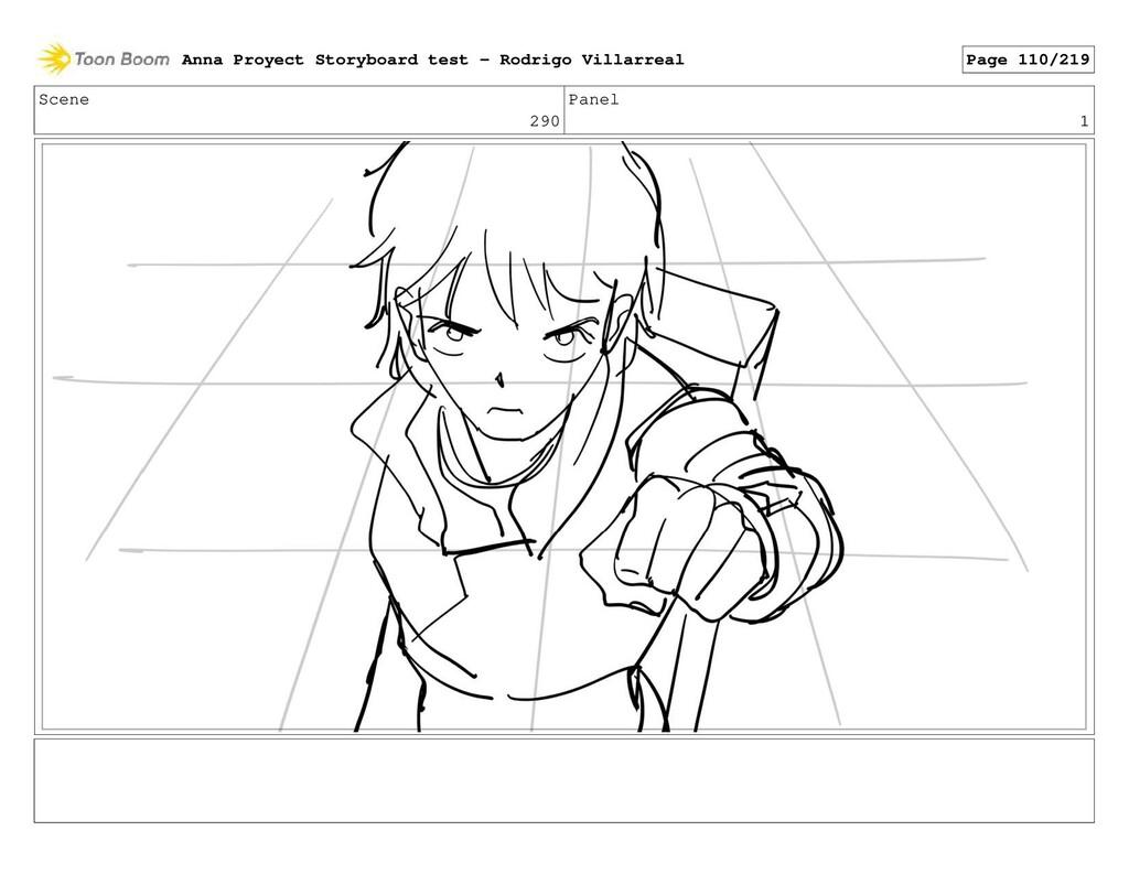 Scene 290 Panel 1 Anna Proyect Storyboard test ...