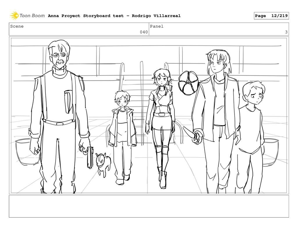 Scene 040 Panel 3 Anna Proyect Storyboard test ...