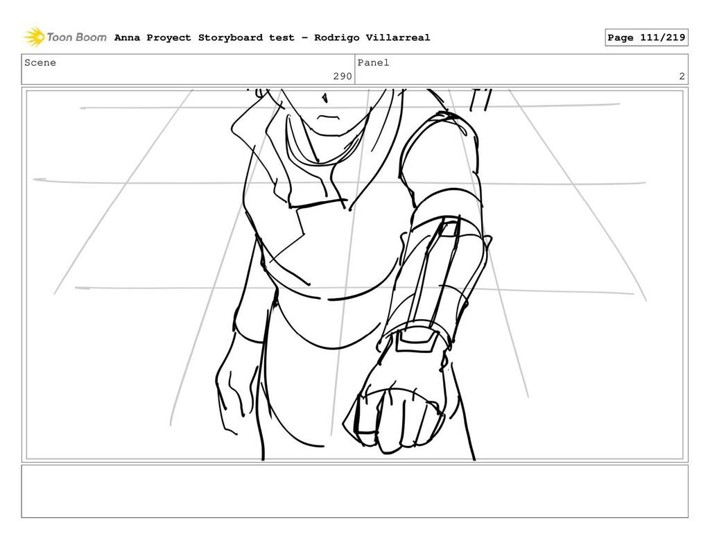 Scene 290 Panel 2 Anna Proyect Storyboard test ...