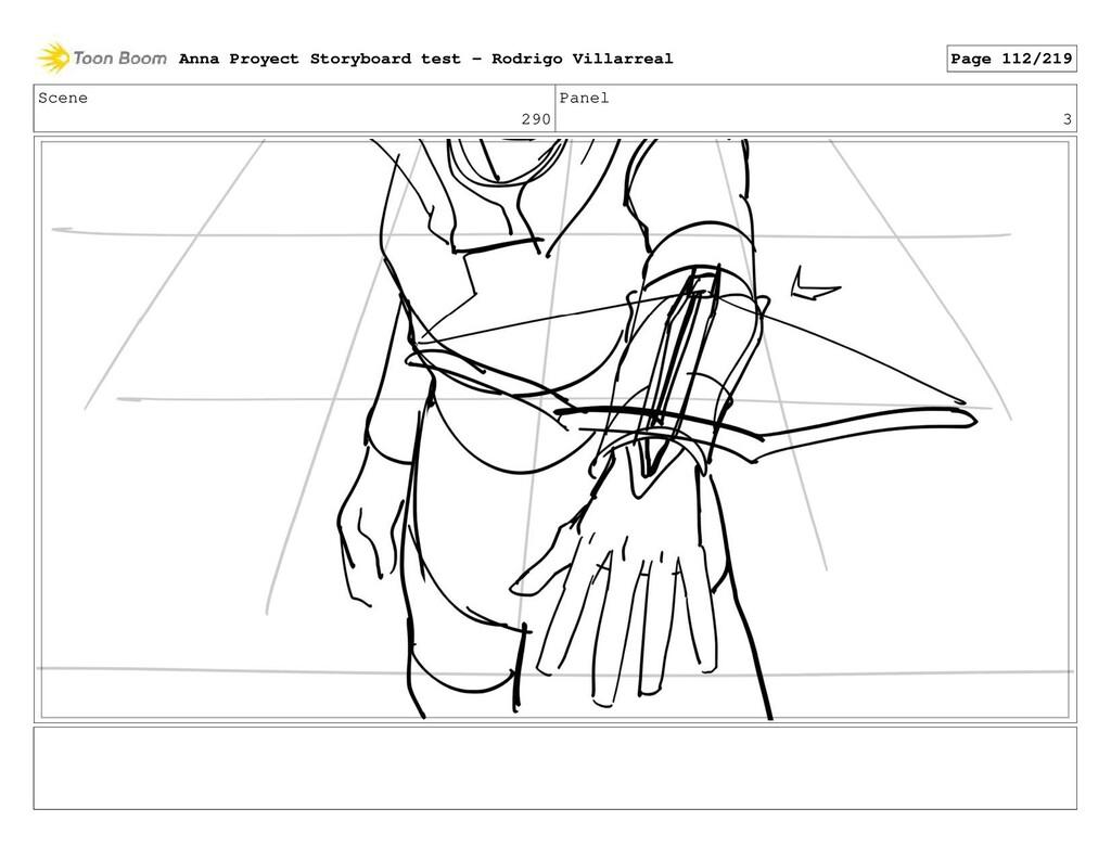 Scene 290 Panel 3 Anna Proyect Storyboard test ...