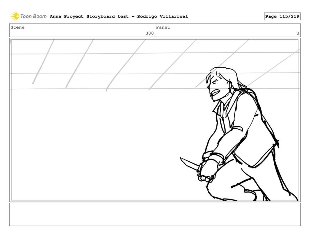 Scene 300 Panel 3 Anna Proyect Storyboard test ...
