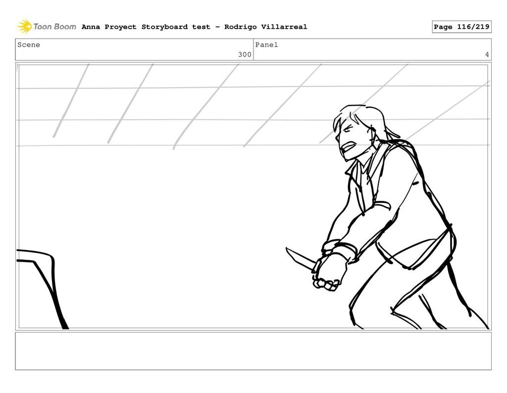 Scene 300 Panel 4 Anna Proyect Storyboard test ...