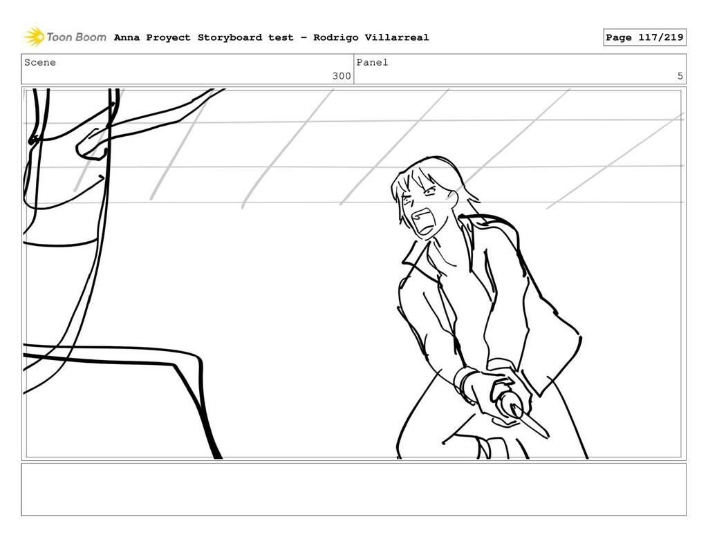 Scene 300 Panel 5 Anna Proyect Storyboard test ...