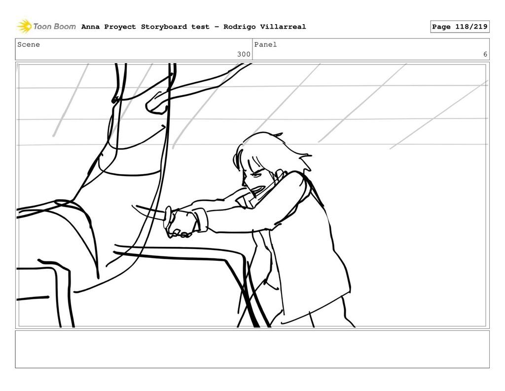 Scene 300 Panel 6 Anna Proyect Storyboard test ...