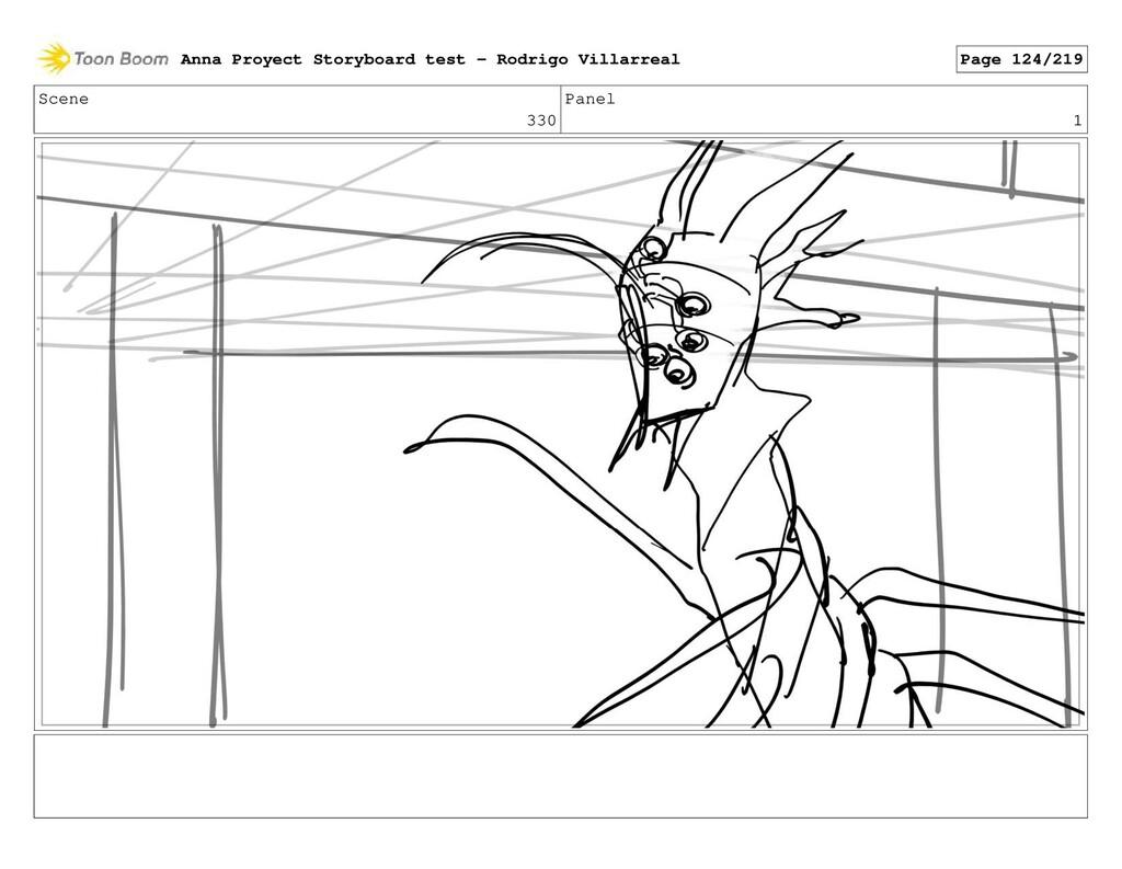 Scene 330 Panel 1 Anna Proyect Storyboard test ...