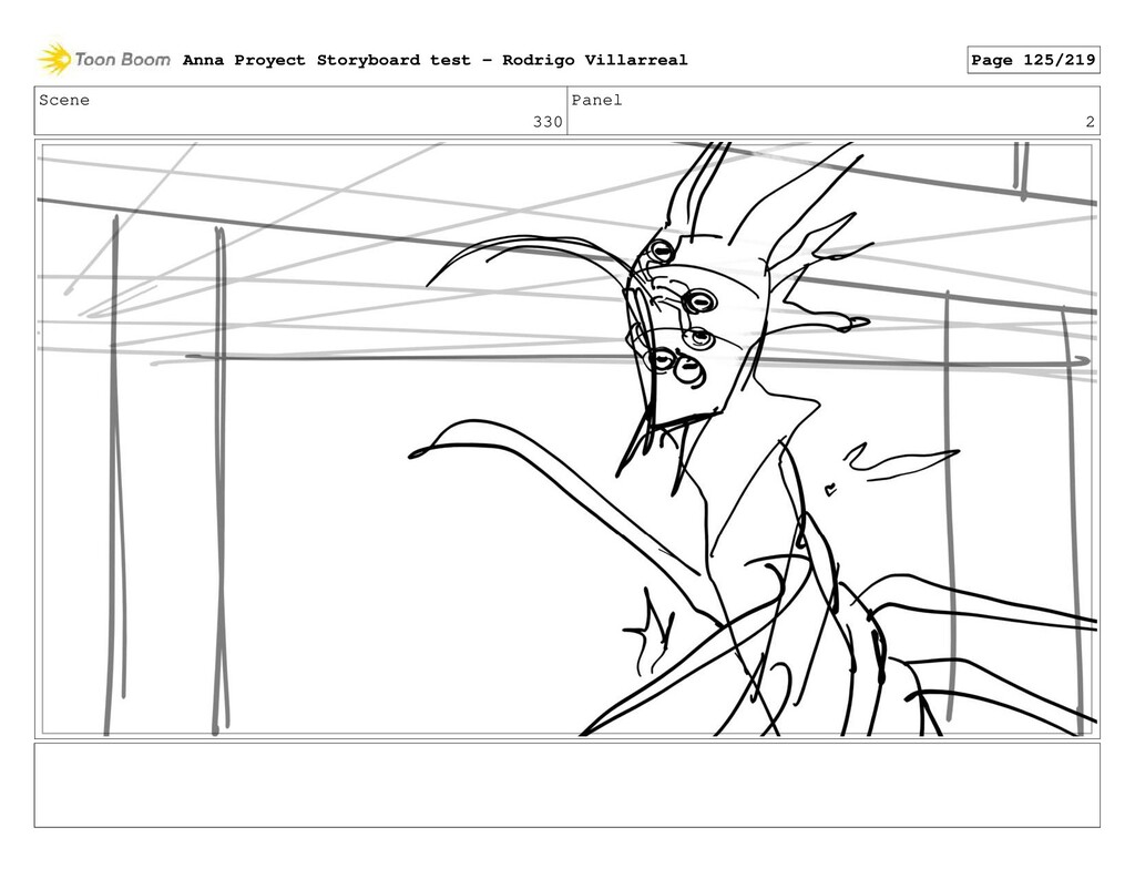 Scene 330 Panel 2 Anna Proyect Storyboard test ...