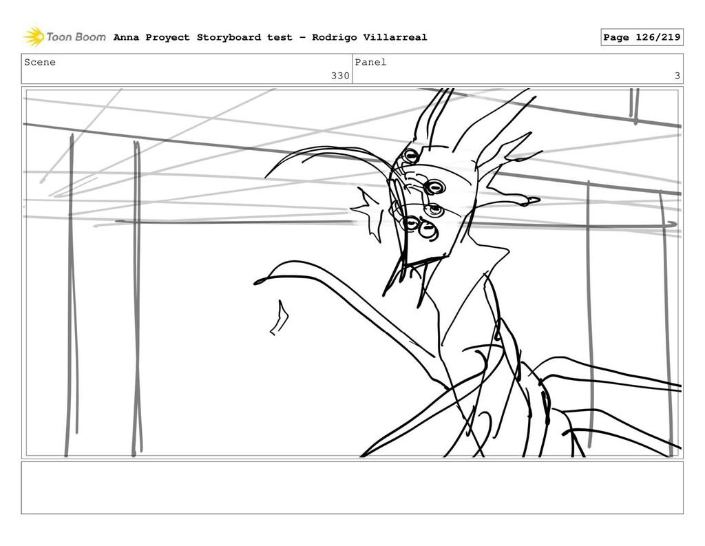 Scene 330 Panel 3 Anna Proyect Storyboard test ...