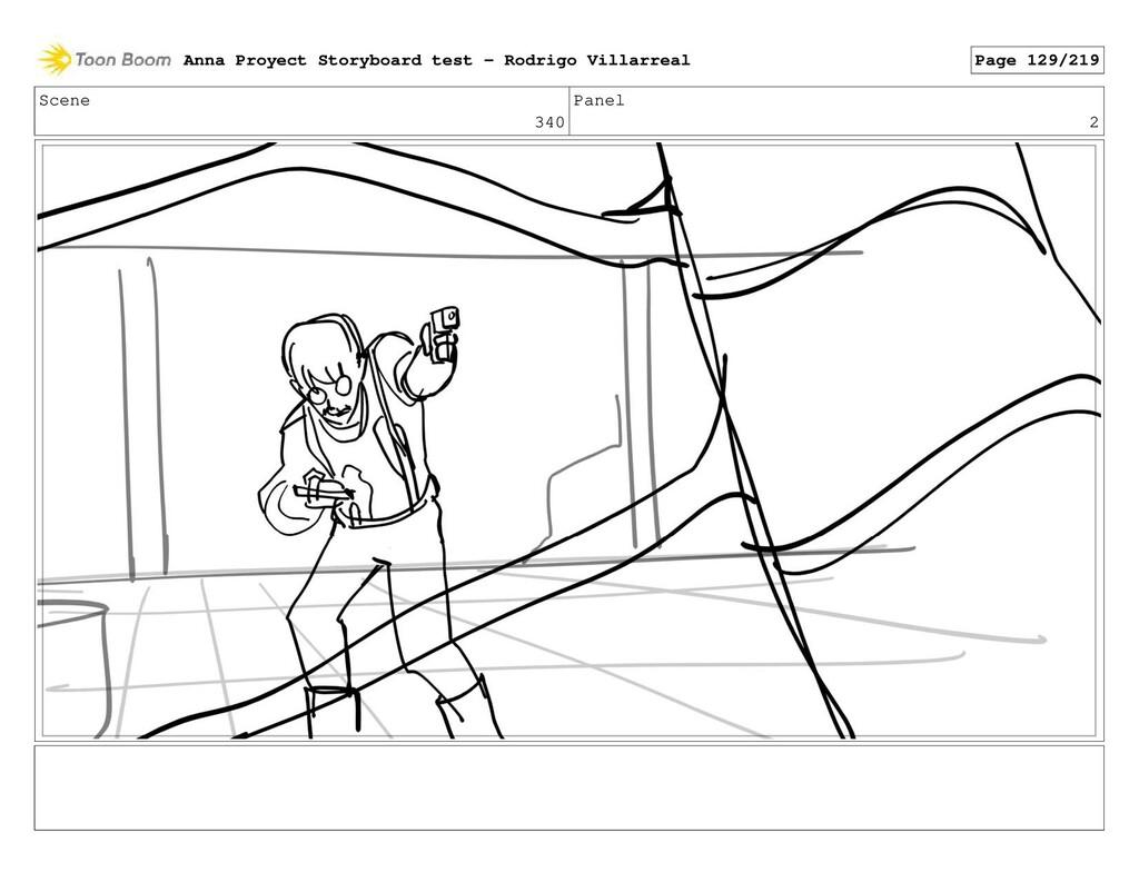 Scene 340 Panel 2 Anna Proyect Storyboard test ...
