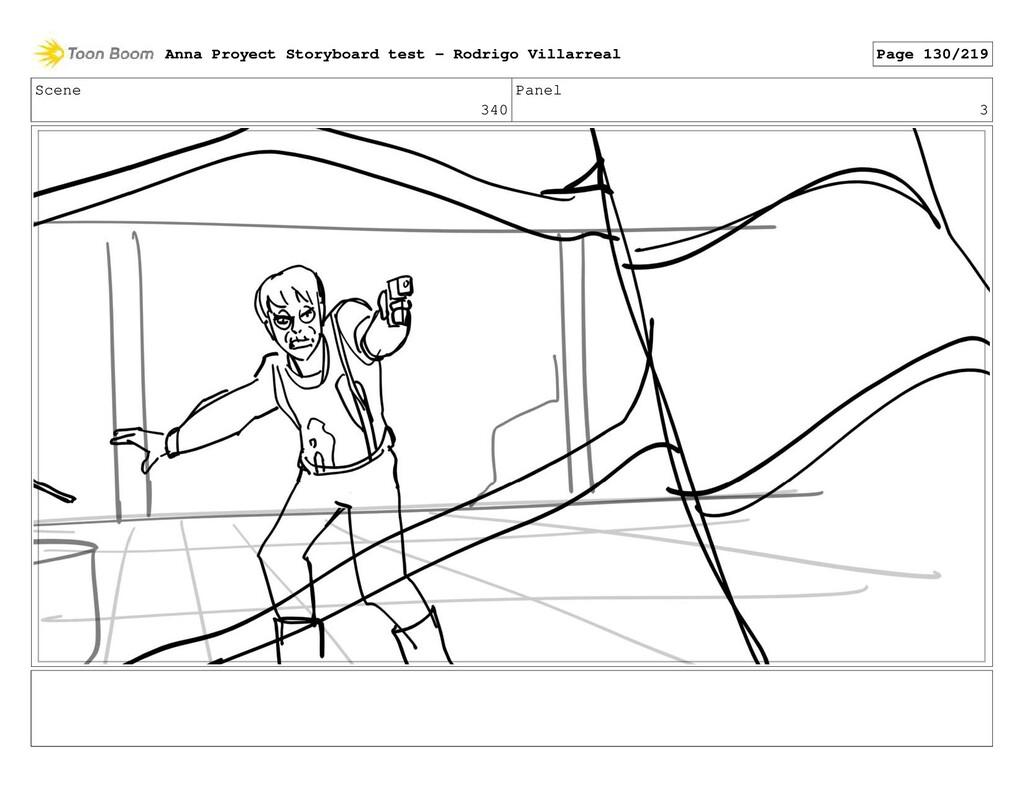 Scene 340 Panel 3 Anna Proyect Storyboard test ...