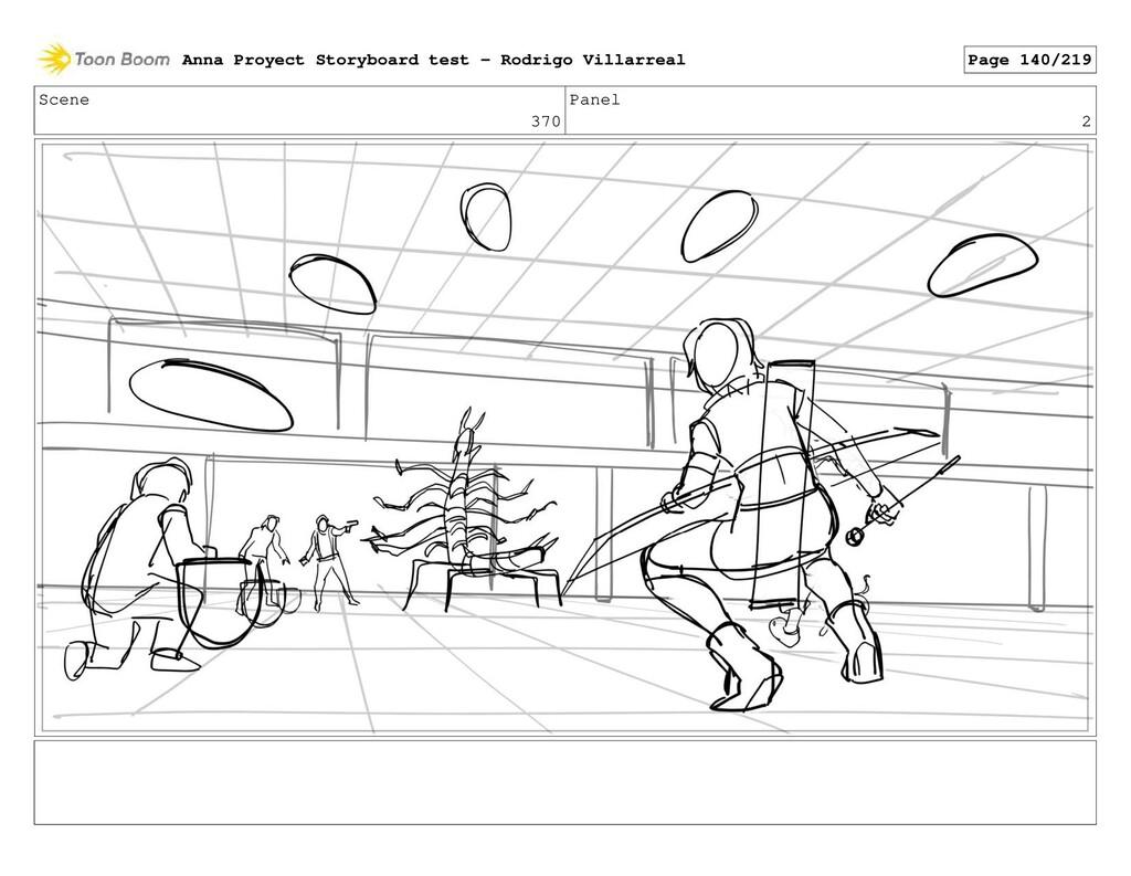 Scene 370 Panel 2 Anna Proyect Storyboard test ...