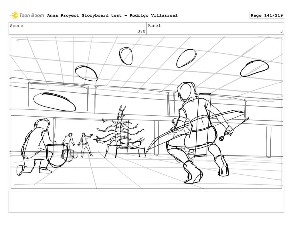 Scene 370 Panel 3 Anna Proyect Storyboard test ...