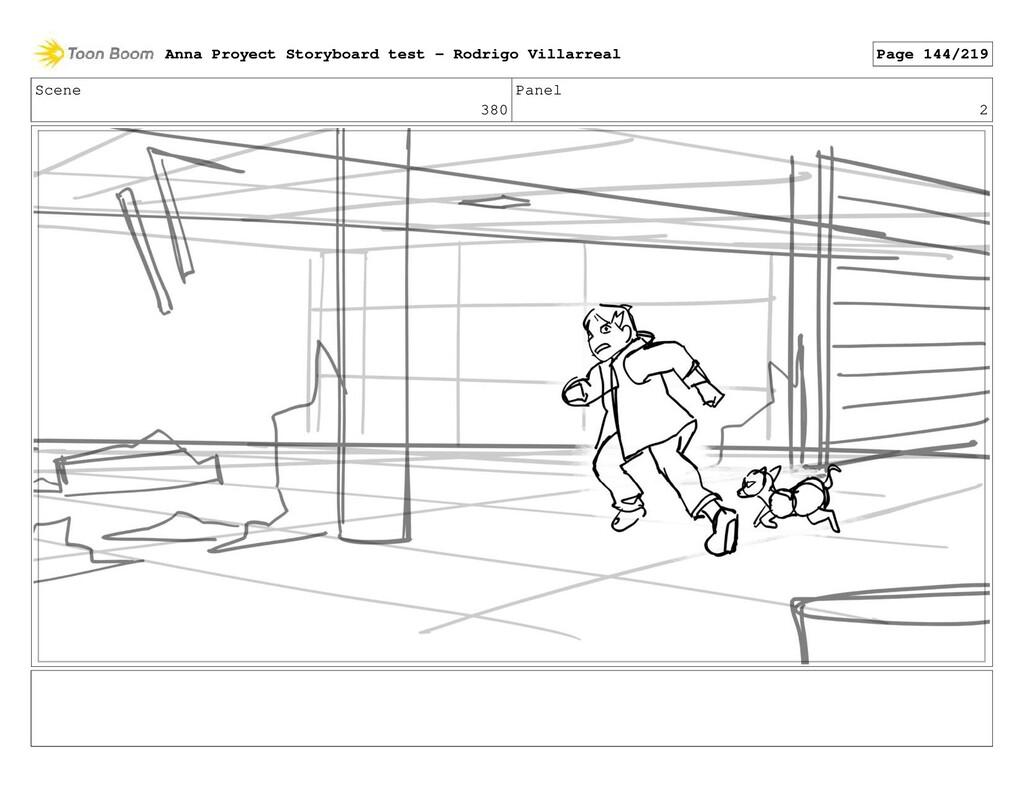 Scene 380 Panel 2 Anna Proyect Storyboard test ...