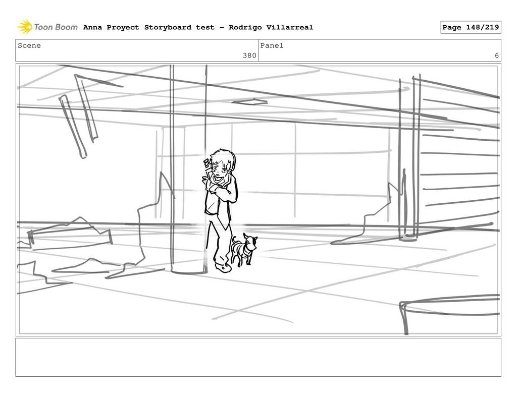 Scene 380 Panel 6 Anna Proyect Storyboard test ...