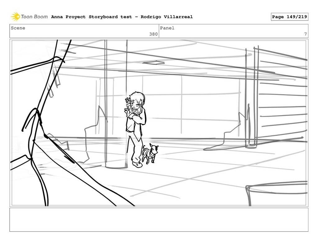 Scene 380 Panel 7 Anna Proyect Storyboard test ...