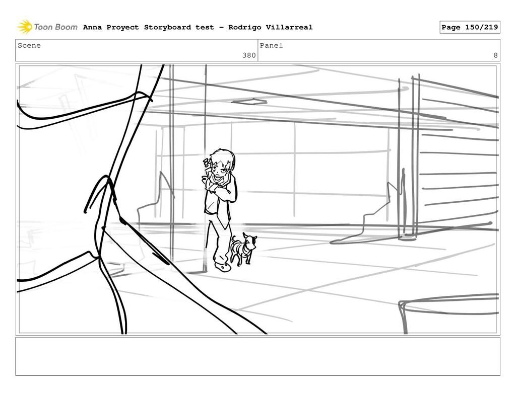 Scene 380 Panel 8 Anna Proyect Storyboard test ...