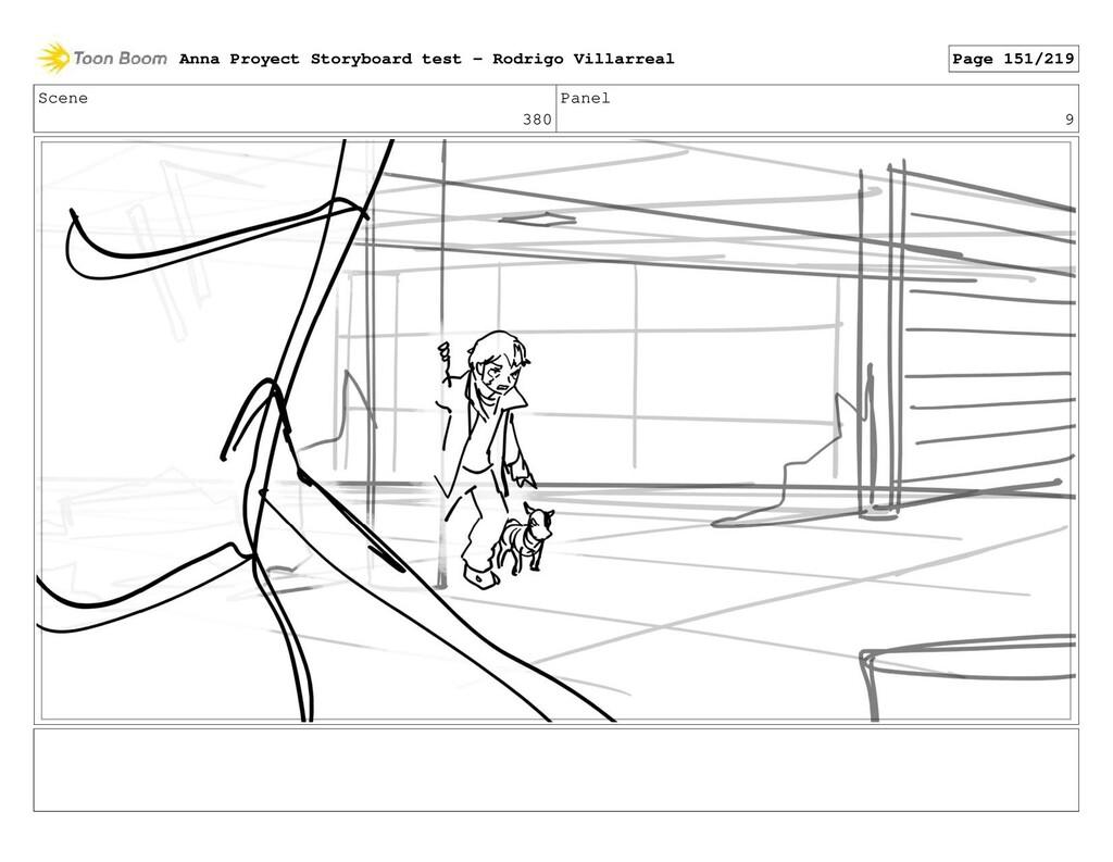 Scene 380 Panel 9 Anna Proyect Storyboard test ...