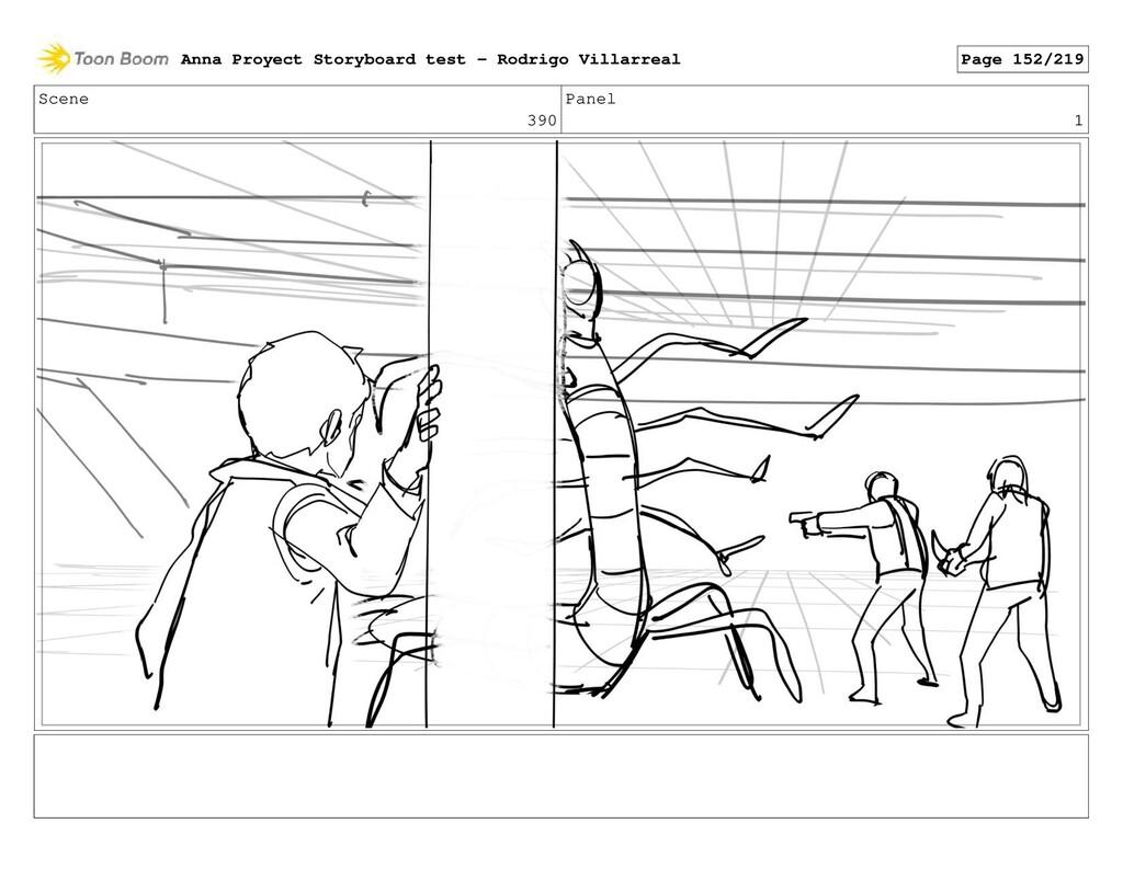 Scene 390 Panel 1 Anna Proyect Storyboard test ...