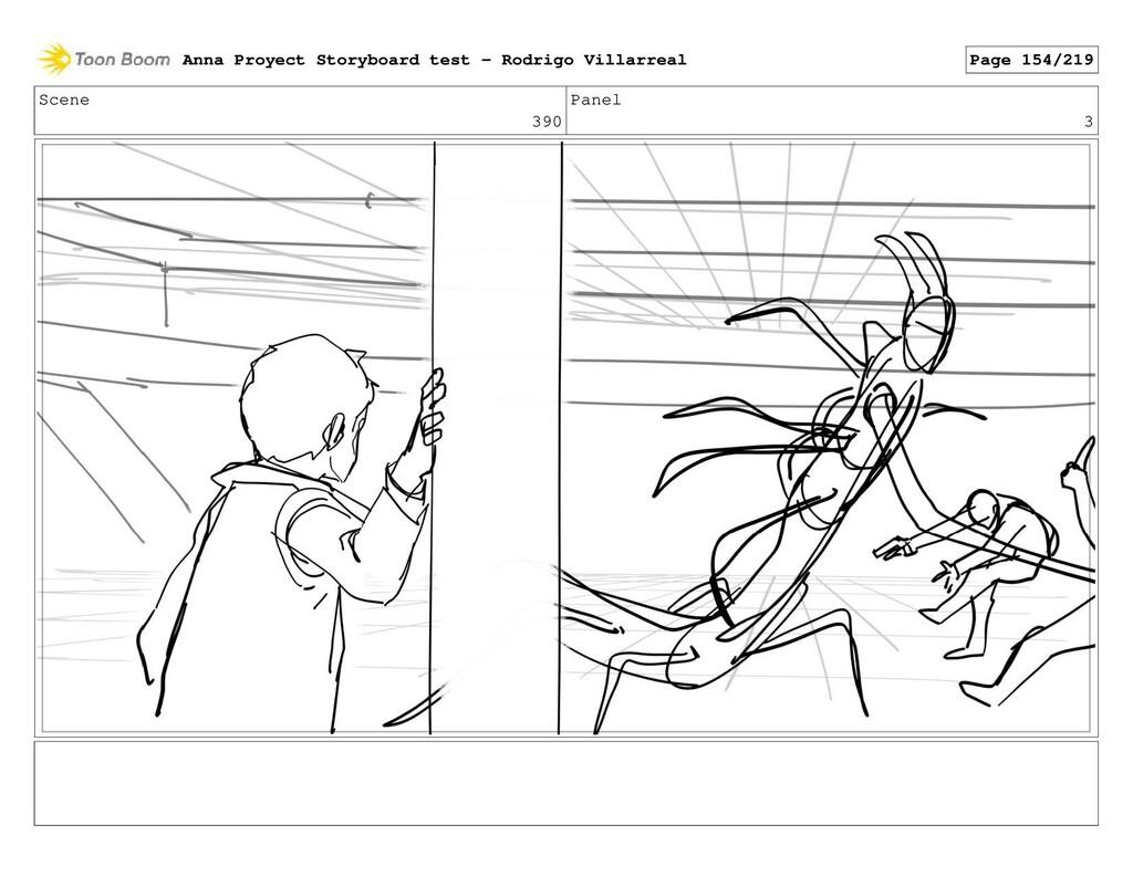 Scene 390 Panel 3 Anna Proyect Storyboard test ...