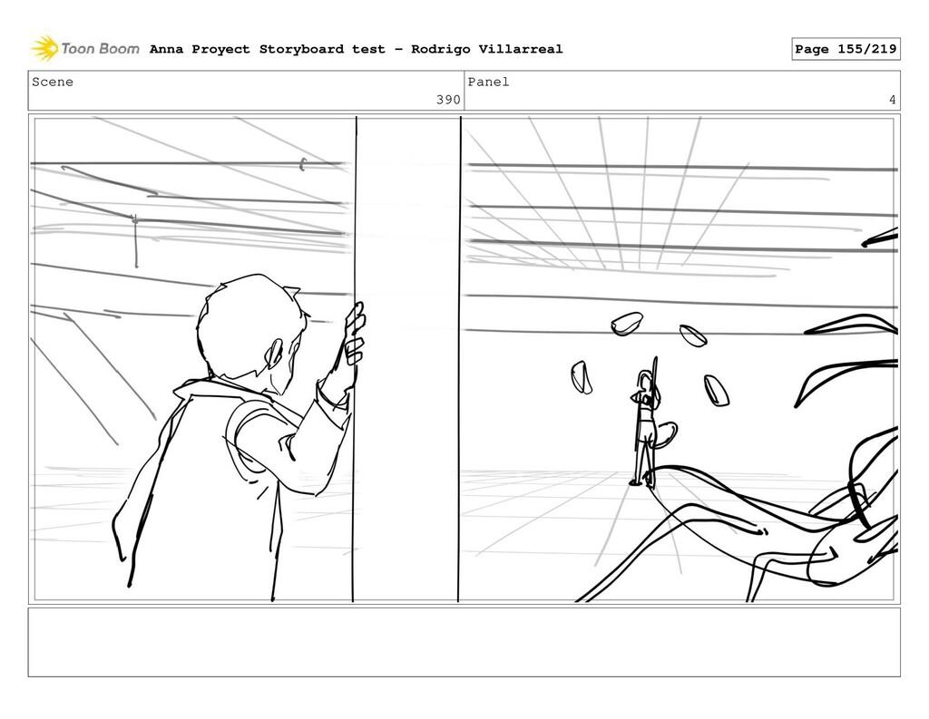 Scene 390 Panel 4 Anna Proyect Storyboard test ...