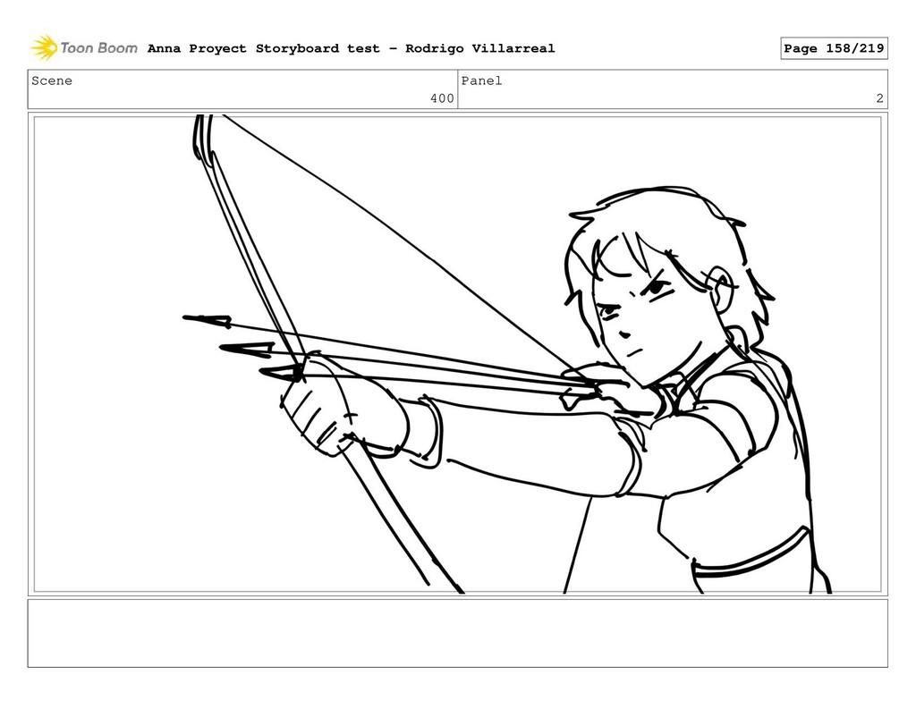 Scene 400 Panel 2 Anna Proyect Storyboard test ...