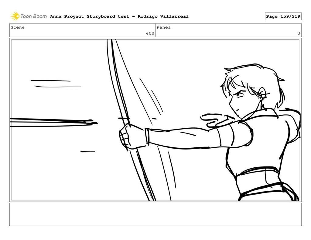 Scene 400 Panel 3 Anna Proyect Storyboard test ...