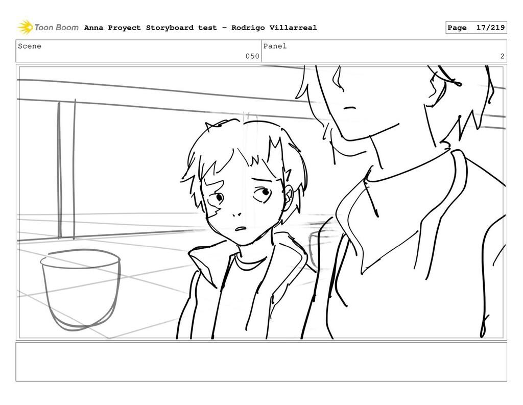 Scene 050 Panel 2 Anna Proyect Storyboard test ...