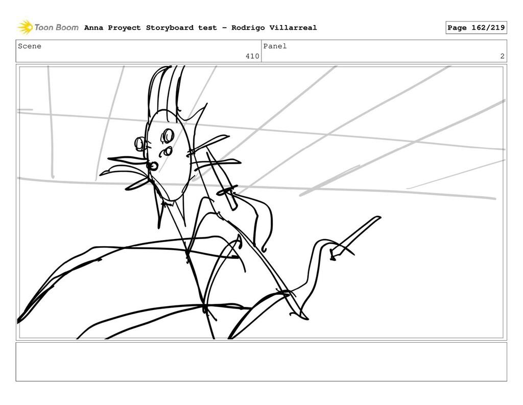 Scene 410 Panel 2 Anna Proyect Storyboard test ...