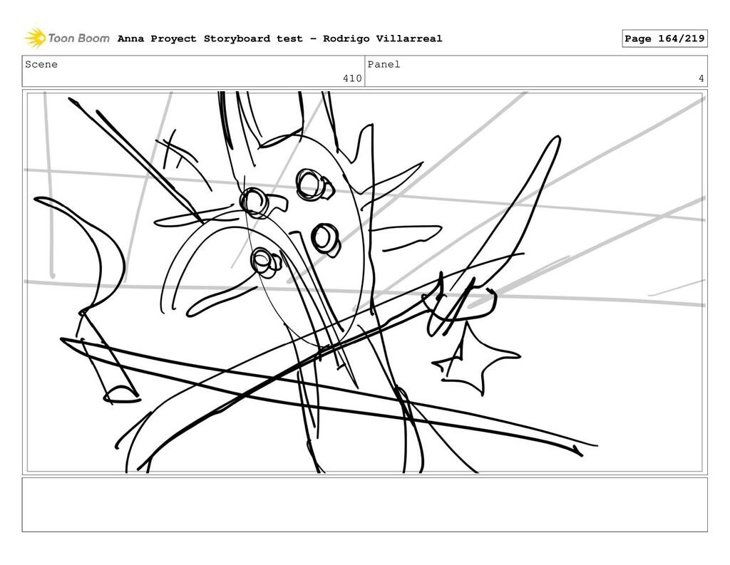 Scene 410 Panel 4 Anna Proyect Storyboard test ...