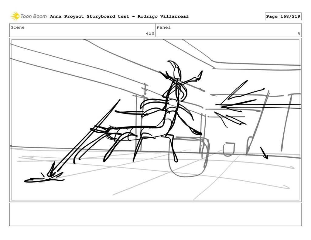 Scene 420 Panel 4 Anna Proyect Storyboard test ...