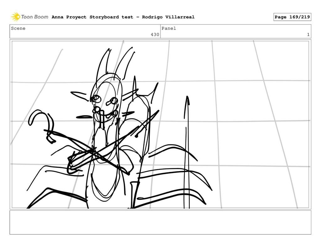 Scene 430 Panel 1 Anna Proyect Storyboard test ...
