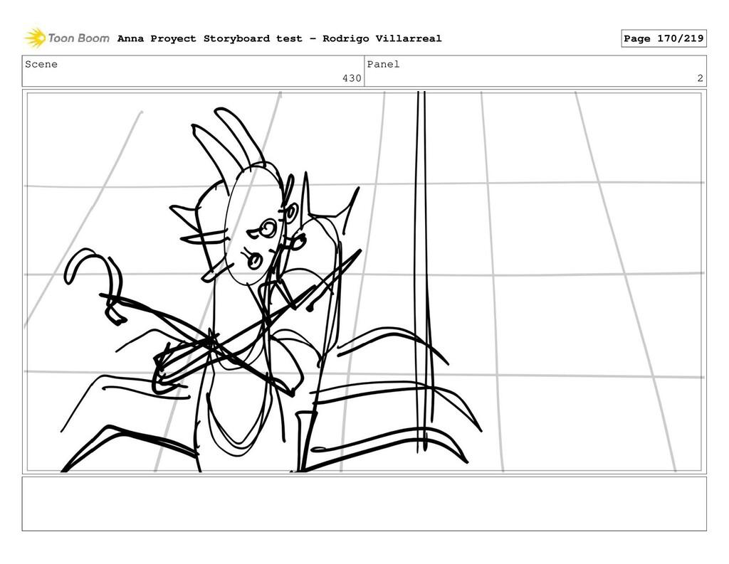 Scene 430 Panel 2 Anna Proyect Storyboard test ...