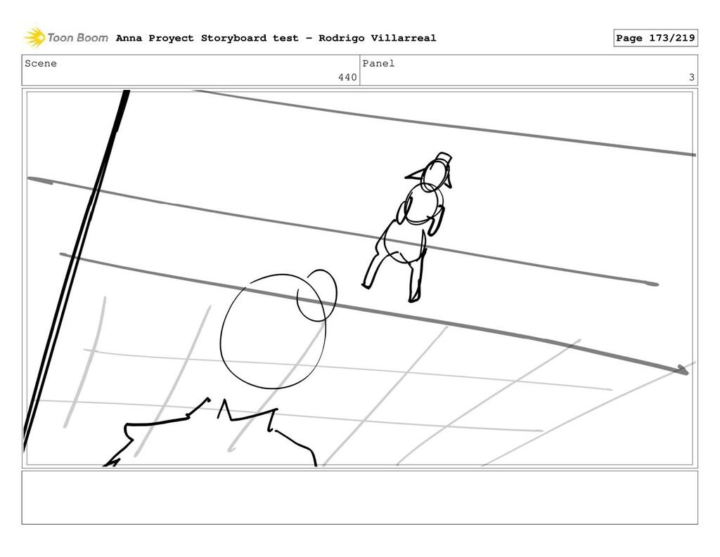 Scene 440 Panel 3 Anna Proyect Storyboard test ...
