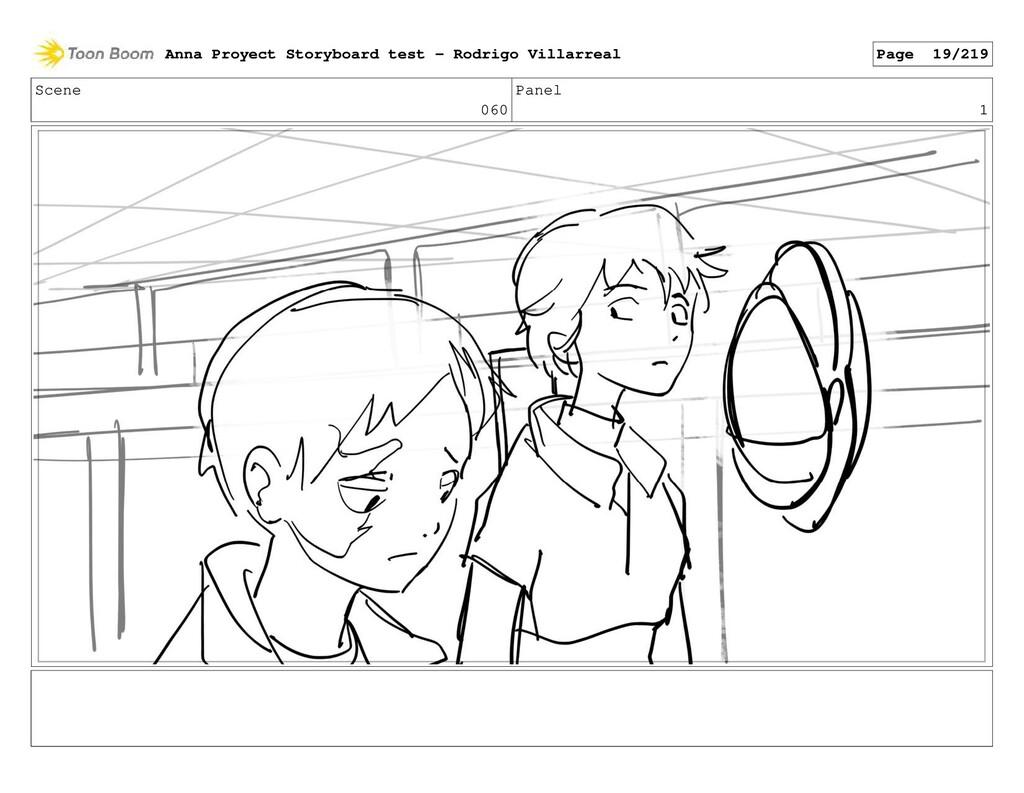 Scene 060 Panel 1 Anna Proyect Storyboard test ...