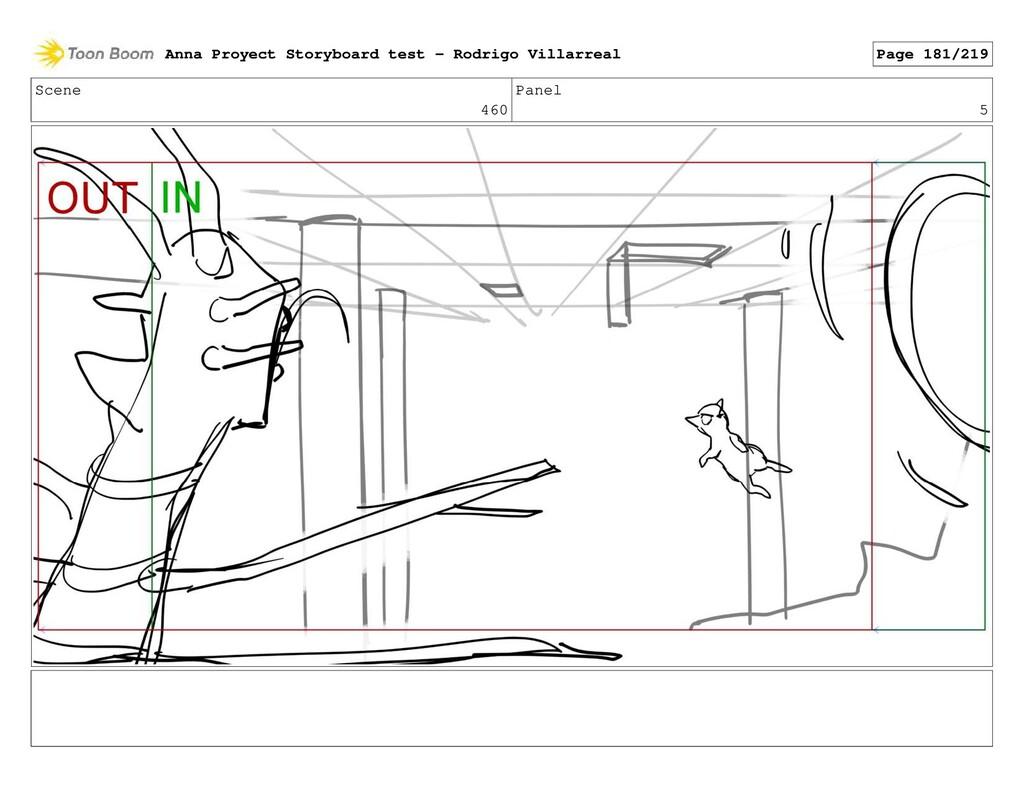 Scene 460 Panel 5 Anna Proyect Storyboard test ...