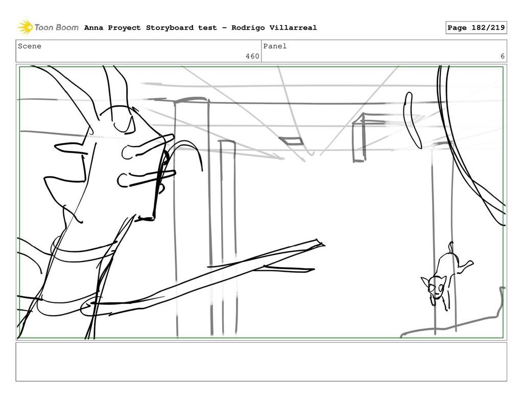 Scene 460 Panel 6 Anna Proyect Storyboard test ...