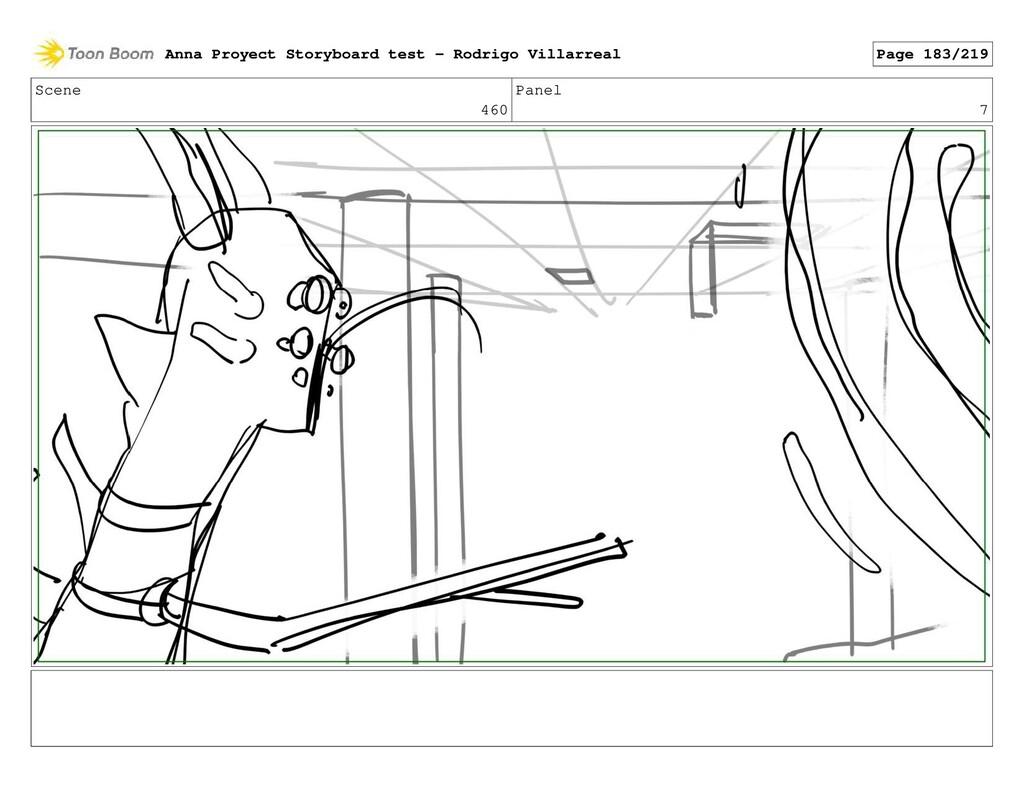 Scene 460 Panel 7 Anna Proyect Storyboard test ...