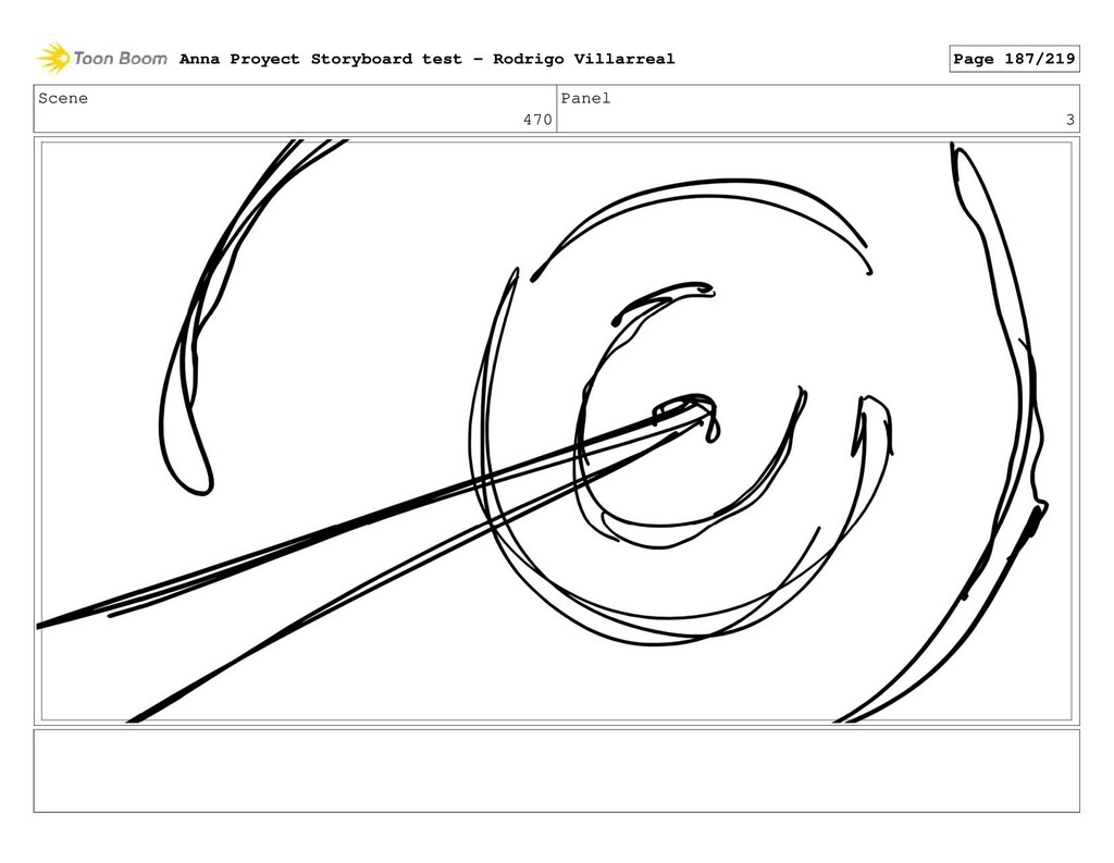 Scene 470 Panel 3 Anna Proyect Storyboard test ...