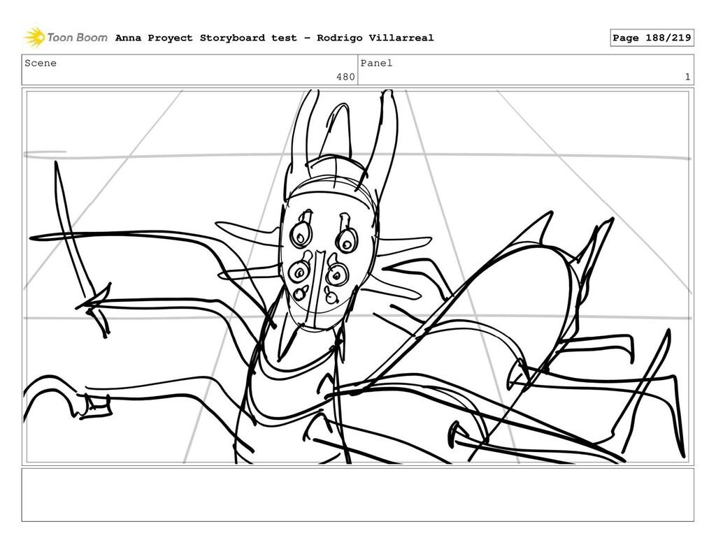 Scene 480 Panel 1 Anna Proyect Storyboard test ...