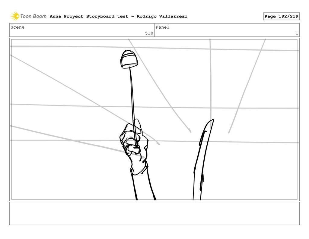 Scene 510 Panel 1 Anna Proyect Storyboard test ...