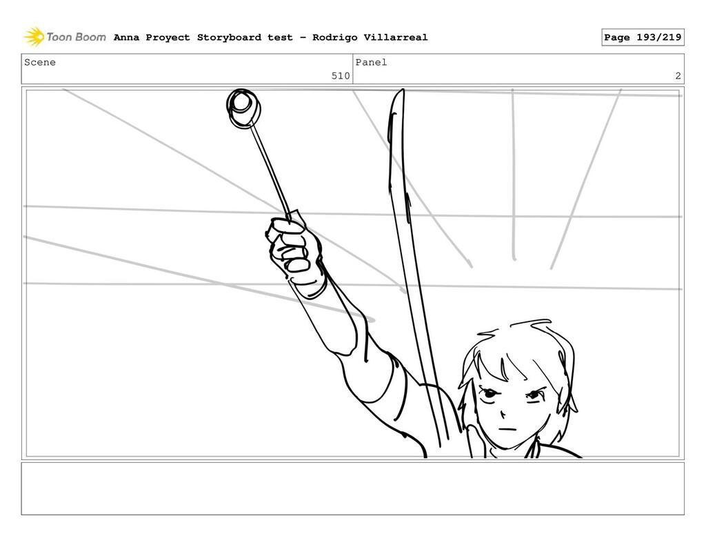 Scene 510 Panel 2 Anna Proyect Storyboard test ...
