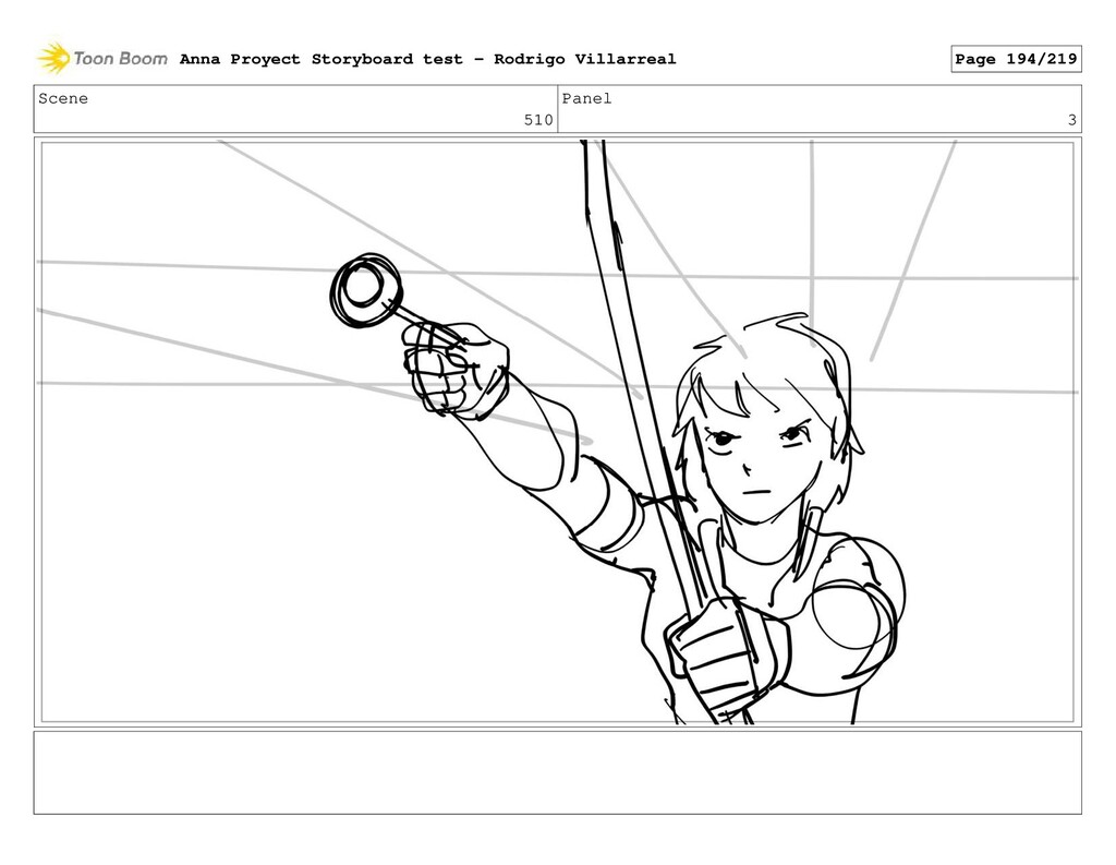 Scene 510 Panel 3 Anna Proyect Storyboard test ...