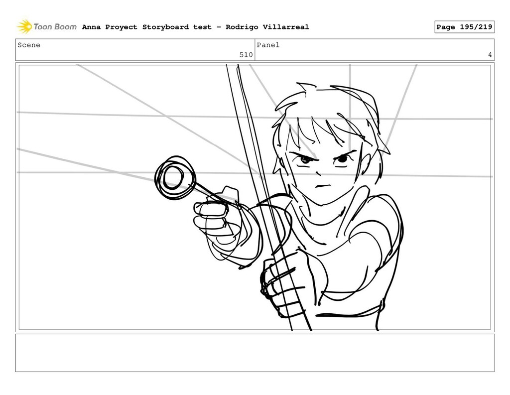 Scene 510 Panel 4 Anna Proyect Storyboard test ...