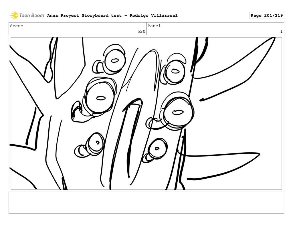 Scene 520 Panel 1 Anna Proyect Storyboard test ...